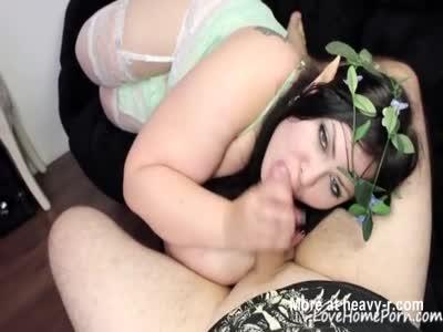 BBW Handles Dick