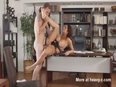 Busty Boss Banged In Office