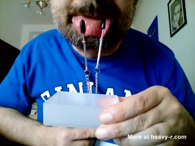 Kocalos - Nostrils and mouth selftorture
