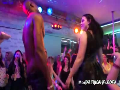 Nasty nymphos get entirely wild and naked at hardcore party