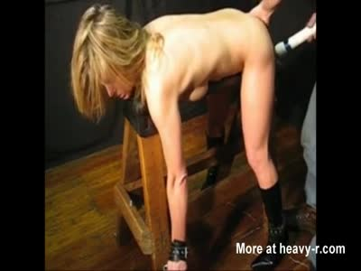 Blonde Slut Tied Up Face Down