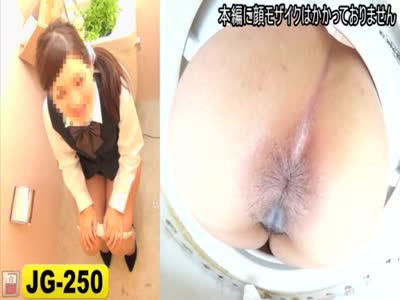 【JAPAN】peeing sit poop peeping toilet OL