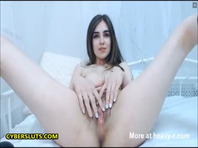 Cute Teen Playing With Her Pussy