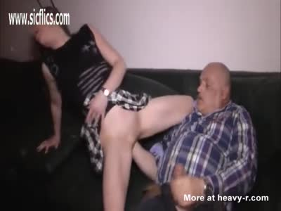 Fat Old Lazy Pervert Loves Fisting Teen Pussy