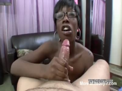 Black Crackhead Sucking Dick