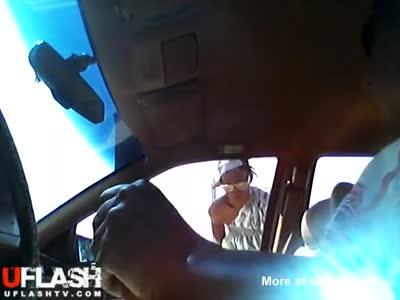 Flashing A Crazy Lady