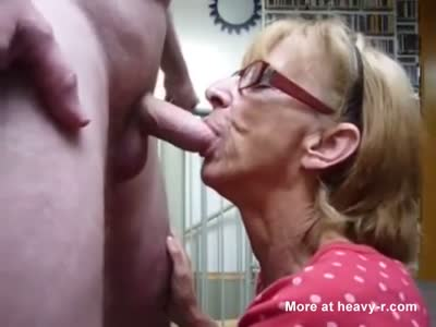 Grannie Loves Cum