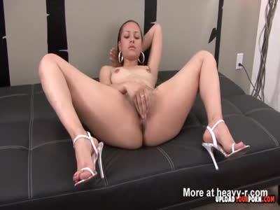 Small Tits Latina Masturbating