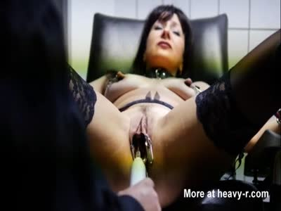 No Mercy For Negligent Slave In Gyno Chair