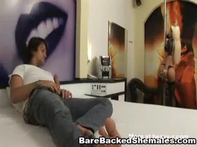 Wild and Horny Shemale Bareaback