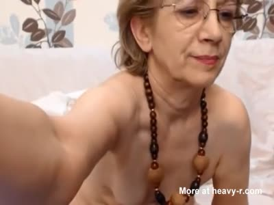 Cute granny small tits