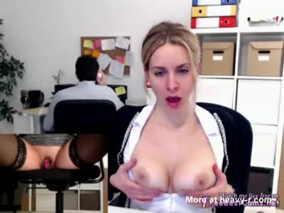 Masturbating In Office