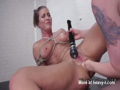 Anal Fisting Tied Girl
