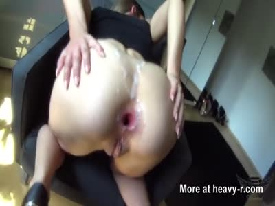 Fucking Her Gaping Asshole