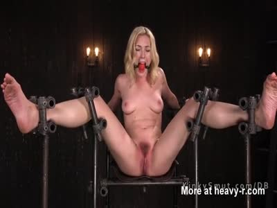 Busty Babe Gets Tits Tortured