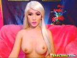 Blonde Shemale Webcam Sex Chat