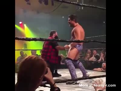 Wrestlers Cock Is Unbeatable