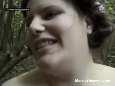 Scat Girl - CHARNELLE IN NATURE