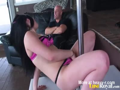 Poor Pole Dancer Creampied