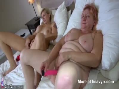 Masturbating With Granny