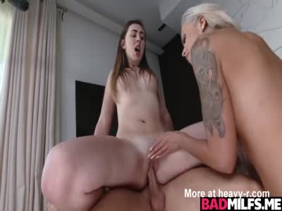 Threesome With Step Mom