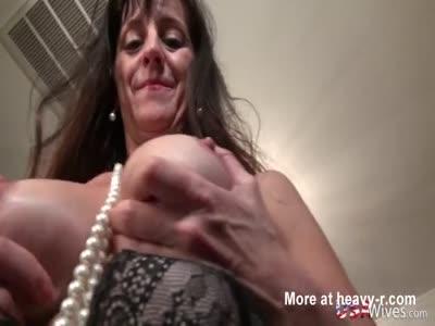 Fit Mature Toying Masturbation
