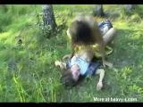 Girl Raped In The Forest