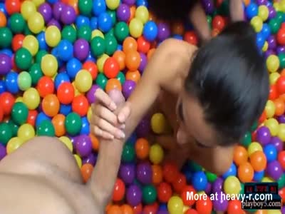 Dorm Room Ball Party