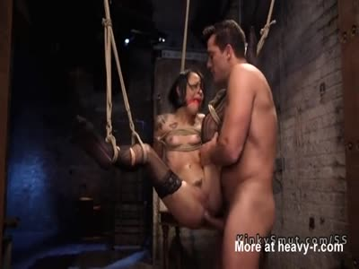 Debt Collector Fucks Tied Girl In Ass
