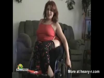Girl in wheelchair fucked