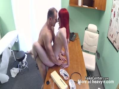 Redhead Fucked In Hospital