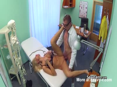 Doctor Fucking Sexy Busty Blonde