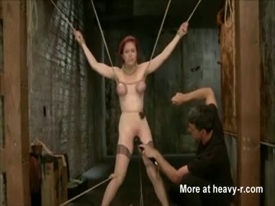 Redhead Tied And Tortured