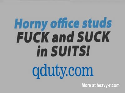 The guys are getting horny at the office