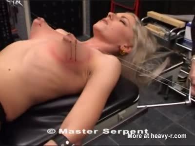 Torture Galaxy-Bianca (Hook piercing the nipples) ▶27:23