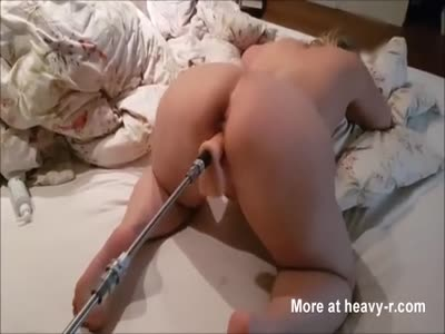 Wife Fucked By Sex Machine