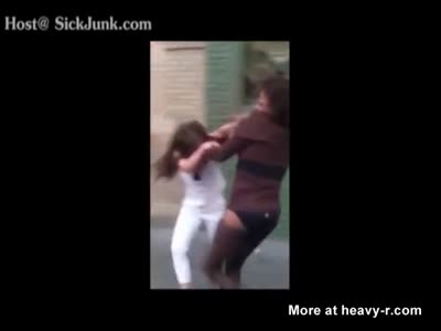 Tranny Fights Like A Bitch