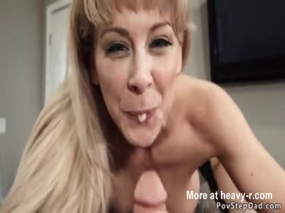 Turned On MILF Rides Hubbys Dick In POV