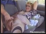 Grandma Fucked In Car
