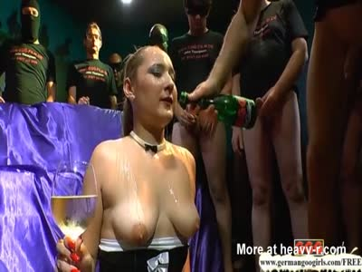 Champagne And Cum Party