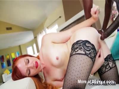 Pornstar Ginger Fucking Beefy Black Dick