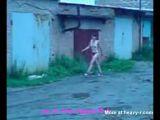 Woman Walking Naked In Public