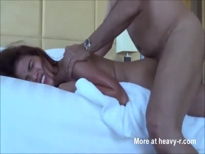 image Melanie restrained for hard slapping and fingering