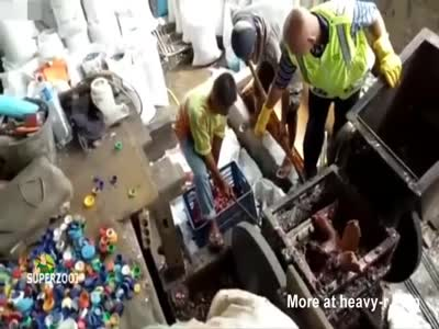 Worker Dies In Plastic Shredding Machine