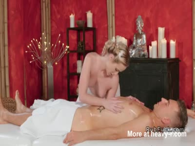 Topless Masseuse