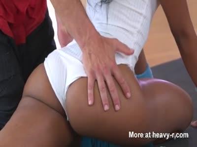 Yoga Master Fucking Black Teen