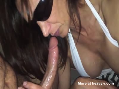 horny milf sucking dick