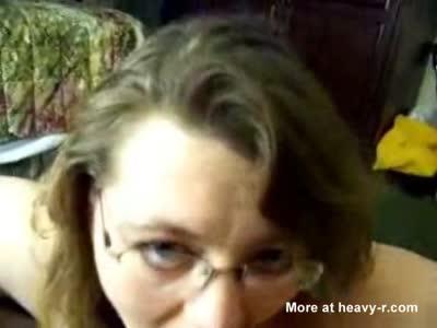 mom Andrea nibbling at huge black meat