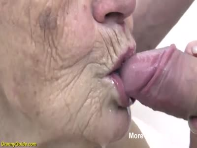 Granny Sucking Young Cock