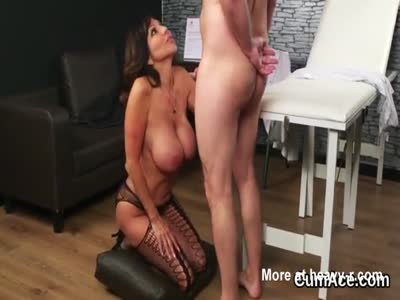 Hot MILF Spoils Patient